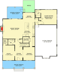 craftsman floor plan craftsman house plan with floor room and bonus garage