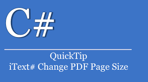 Count Number Of Pages In Pdf Itext Quicktip 322 C Visual Studio Tutorial Itext Change Pdf