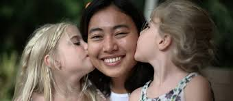 Beautiful Au Pair In America Cultural Experience Program Aupair - Aupair care family room