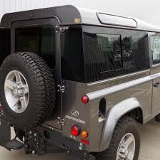 range rover defender 2015 sliding masai panoramic tinted windows for land rover defender 90
