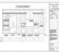 Modular Kitchen Cabinets Dimensions Modular Kitchen Details Dwg Inside Outside 800x1200 Plan Elevation