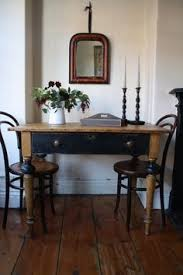 Pine Drop Leaf Table And Chairs Restored Vintage Pine Drop Leaf Table With Single By Arthurandede