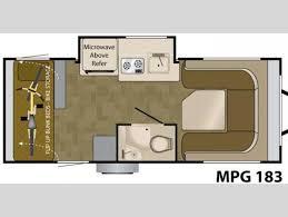 heartland mpg floor plans floorplan 2012 heartland mpg 183 good heartland mpg floor plans
