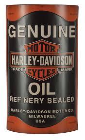 harley davidson 3d oil can metal sign hdl 15511