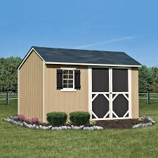 Lowes Sheds by Heartland Stratford Saltbox Engineered Wood Storage Shed Common