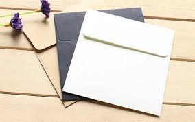 10 10cm kraft paper mini blank envelopes for membership card