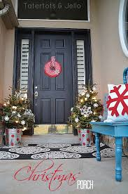 Christmas Porch Decorations Ideas by Festive Christmas Porch Decorating Ideas Landeelu Com