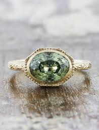 engagement rings green images Reveniss intricate oval blue green sapphire ring ken dana design jpg