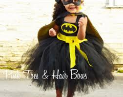 Batman Halloween Costumes Girls Batman Costume Etsy