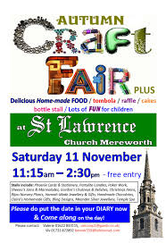 autumn craft fair plus on saturday 11th november 2017 inspire