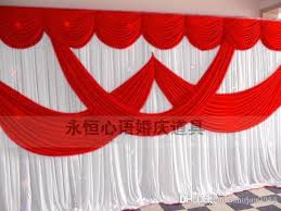 wedding backdrop prices 2016 newly design 20ft by 10ft white color wedding backdrop curtain