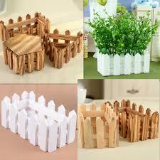 Flower Pot Holders For Fence - wooden flower planter fence picket storage holder pot garden
