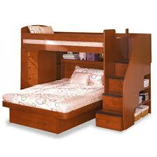 Queen Bunk Beds With Stairs Latitudebrowser - Queen and twin bunk bed