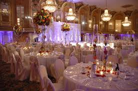 candle decorations for wedding receptions wedding hall