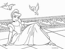 coloring pages princess cinderella eliolera com