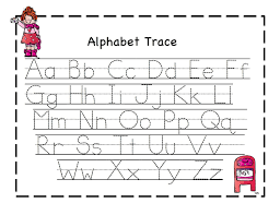 printable letters to trace for educational worksheets kindergarten