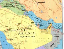 arab map of the arab world
