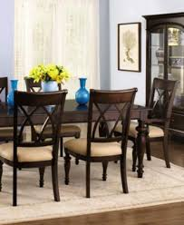 9 piece dining room set bradford 9 piece dining room furniture set with upholstered chairs
