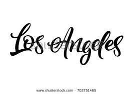 vintage los angeles typography free vector stock