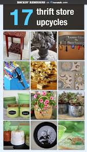 thrift store diy home decor repurposed home decor with easy to find items at thrift stores