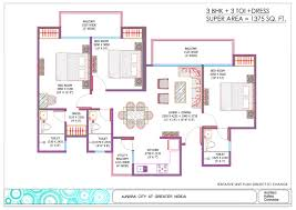 ajnara sports city floor plan noida extension