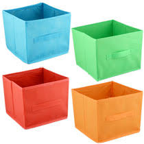 bulk essentials summer collapsible storage containers 8 h