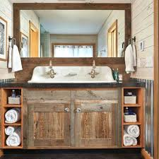 Diy Rustic Bathroom Vanity Vanities Best 25 Country Bathroom Vanities Ideas Only On