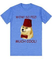 Dog Doctor Meme - funny doge meme doctor who parody so fez t shirt skreened