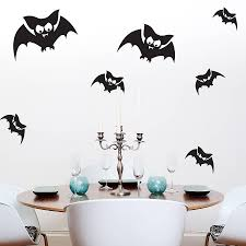 halloween wall stickers wall art kids bat wall stickers
