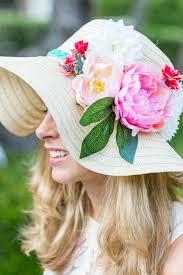 Kentucky Derby Flowers - diy kentucky derby floral hat design improvised