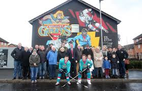 new east belfast mural unveiled celebrating ice hockey team view gallery