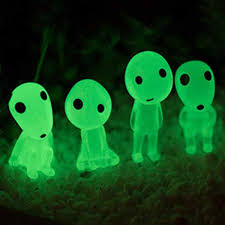 glow in the kodama garden ornaments the forest spirits from