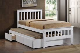 Captain Bed With Trundle Maya White Single Captain Bed Nz Lifestyle Imports