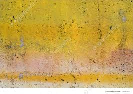 painted wall texture image of grunge yellow painted wall