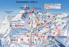 me a map of where i am zell am see hotel berner trail map of the glacier kitzsteinhorn