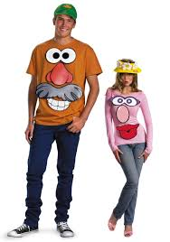 T Shirt Halloween Costumes Ideas Mr And Mrs Potato Head Kit Toy Story Costume Ideas