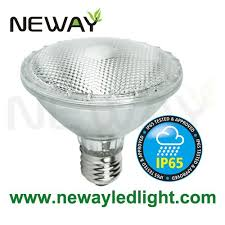 7 watt e27 led par30 flood light bulbs waterproof ip65 230v