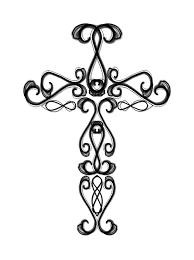 pin cross w ribbons large copy3 largejpg tattoo on pinterest
