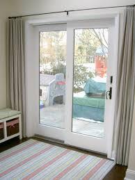 Window Treatment For Patio Door Best Sliding Glass Door Curtains For Doors Window With Regard To