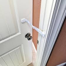 Door Latches Amazon Com Door Buddy Door Latch To Dog Proof Litter Box Easy
