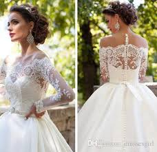 hire wedding dresses discount millanoba 2016 dominica wedding dresses sheer neck