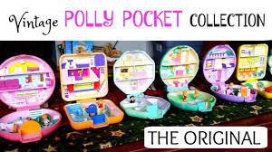 vintage polly pocket collection original polly pockets
