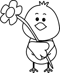 bird flower spring coloring page wecoloringpage