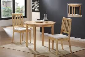 metal material small dining room set best designing round shape
