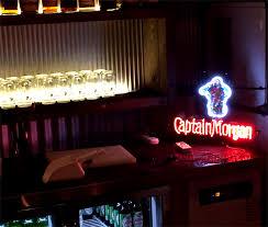 captain morgan neon bar light captain morgan neon sign at night club by lee neon sign wiki neon