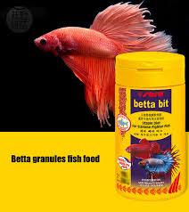 pesci alimentazione acquario betta pesce cibo bit fiocco dieta per siamese fighter