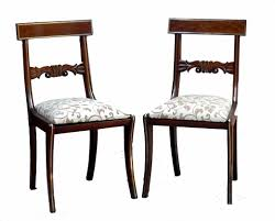Regency Dining Chairs Mahogany Set 8 Antique Regency Mahogany Dining Chairs C 1825 England