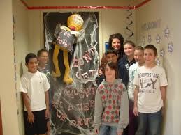 red ribbon door decorating contest winners u2014 office and bedroom