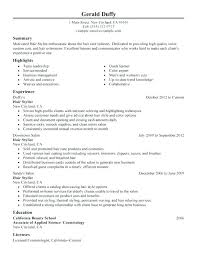 resume cover letter samples for cosmetology templates sample u2013 inssite