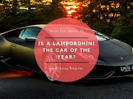 lamborghini the car is a lamborghini the car of the year tuning